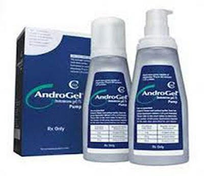 ANDROGEL: One of the most popular prescription testosterone gels. Photo: Courtesy of AbbVie Inc.