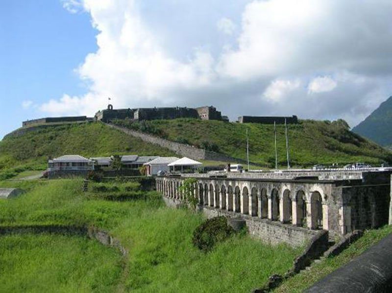 BRIMSTONE HILL FORTRESS NATIONAL PARK: One of the 'must-see' places in St. Kitts. Photo: St. Kitts Tourism