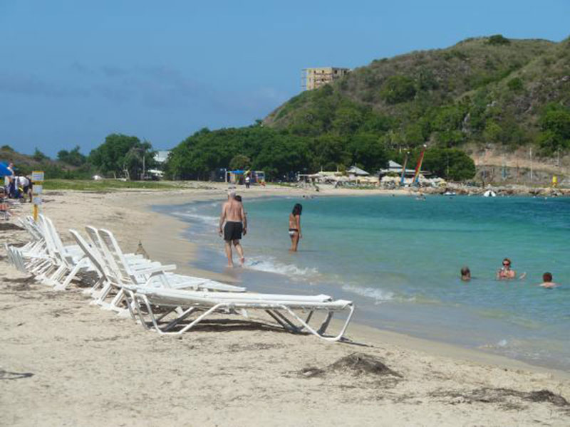 COCKLESHELL BAY: The famous beach many love. Photo: St. Kitts Tourism