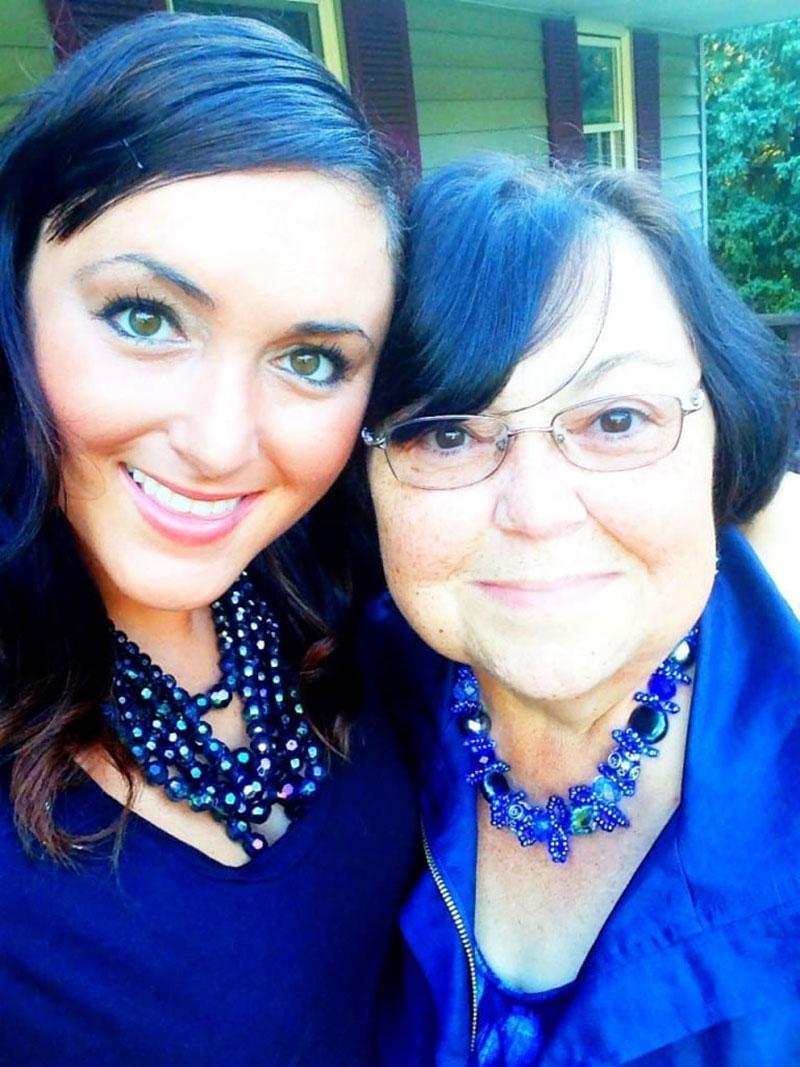 Dr. Miriam Bernstein with her mother. Photo: Courtesy of Dr. Miriam Bernstein