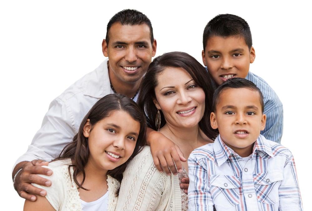 Hispanic-Latino-Family