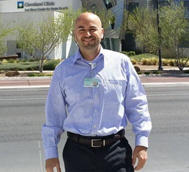 Psychiatrist Aaron Vazquez