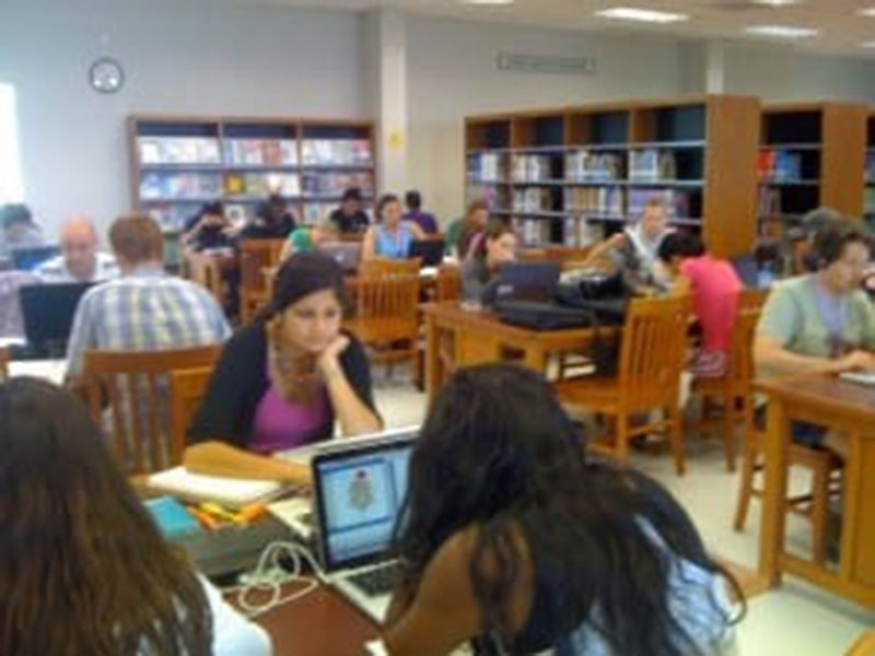The Anne Ross Library: A favorite study spot for UMHS students