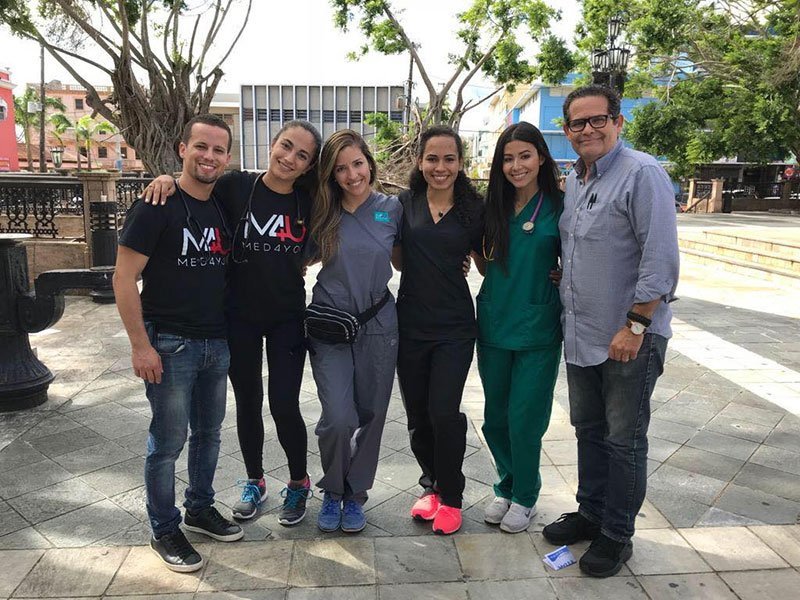 The Arecibo Free Health Clinic Team. Photo: UMHS Med4You