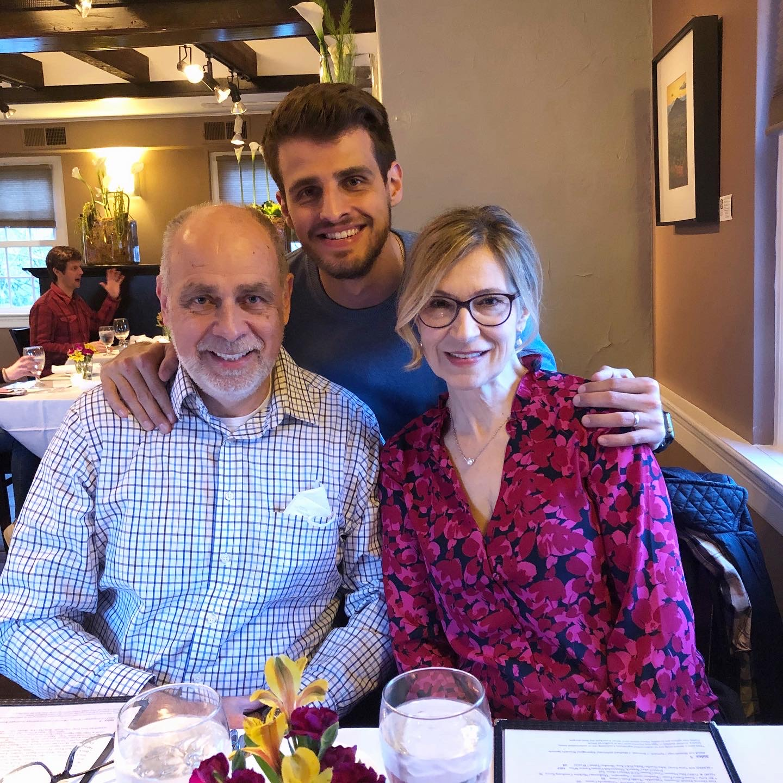 Tom Kowalski-With Parents