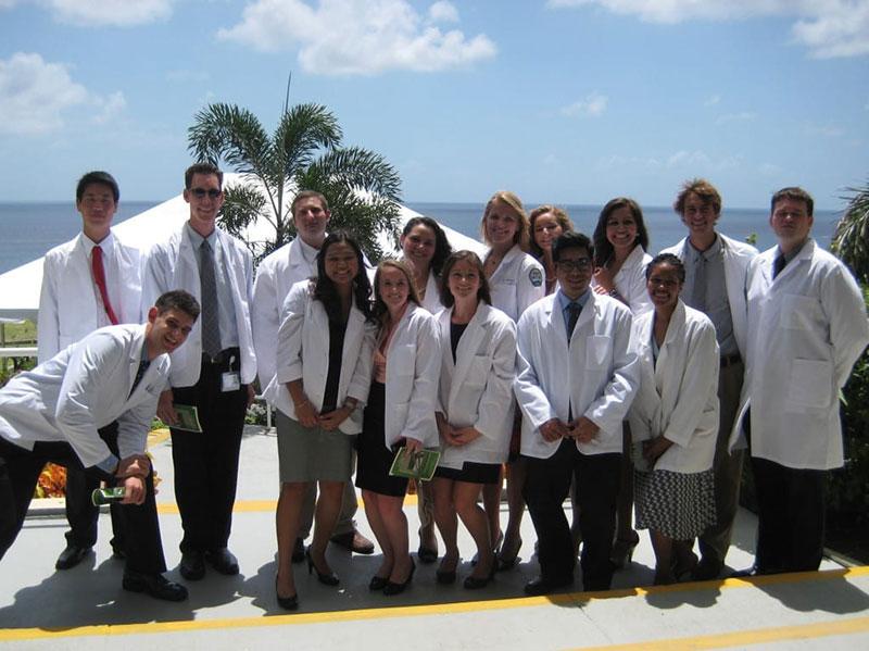 White Coat Ceremony back in fall 2011. Photo: Courtesy of Dr. Elizabeth Nielsen