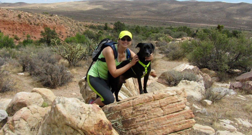 DR-FETTEROLF-Hiking-with-her-dog