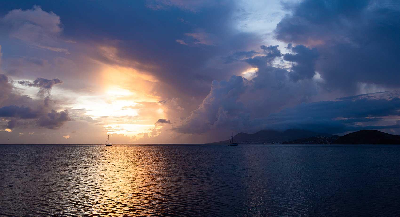 St. Kitts sunsent